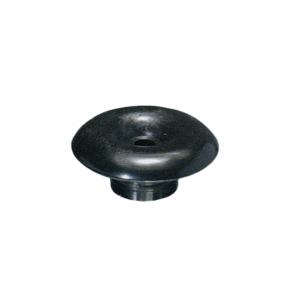 Crochet poulie champignon noir 36 mm - Accessoires pour bâches