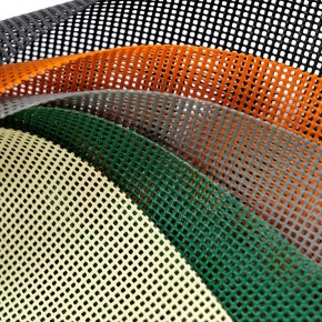Bâche PVC grille / filet au mètre linéaire - Baches au mètre linéaire