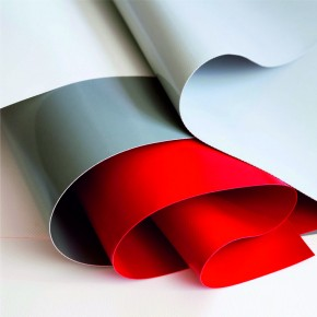 Bâche plate PVC ignifugée M1 / M2 plate-pvc-ignifuge  Bâches avec ourlets et oeillets