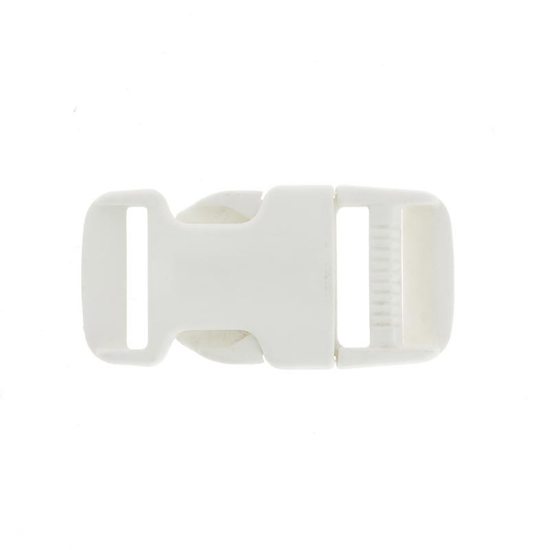 Boucle à ouverture rapide plastique blanche BOUC003  Accessoires pour bâches