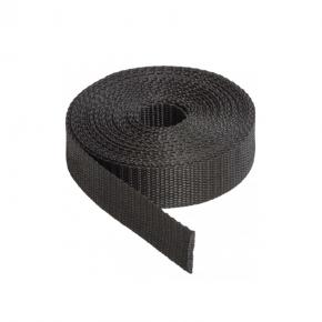 Sangle 5 tonnes 50 mm noir au mètre - Accessoires pour bâches