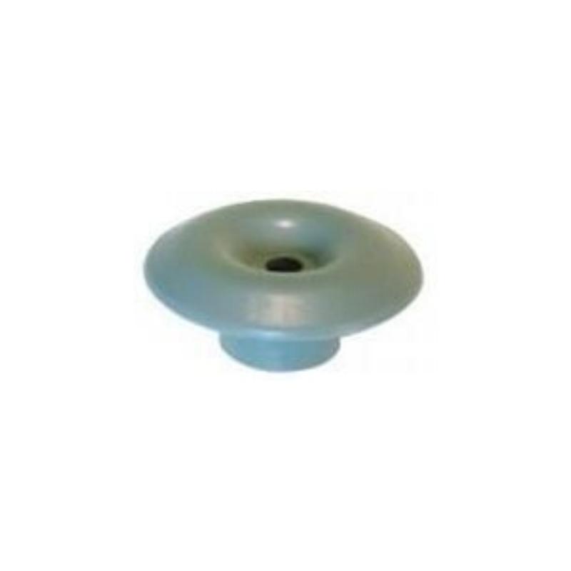 Crochet poulie champignon gris 36 mm - Accessoires pour bâches