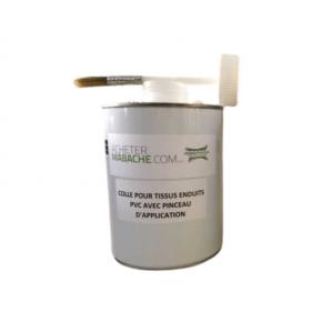 Colle Bâche PVC avec Pinceau d'Application - 1KG - Accessoires pour Bâches