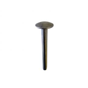 PITON DROIT INOX - TUBE 80 X 8MM - TETE 22 MM - PISCINE PITO007  Fixation - Fermeture - curseur