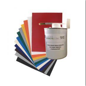 Kit réparation bache PVC - Accessoires pour bâches